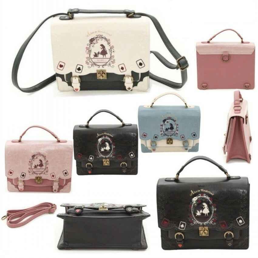 Alice In Wonderland Handbag Backpack Female Lolita Vintage Student Bag New