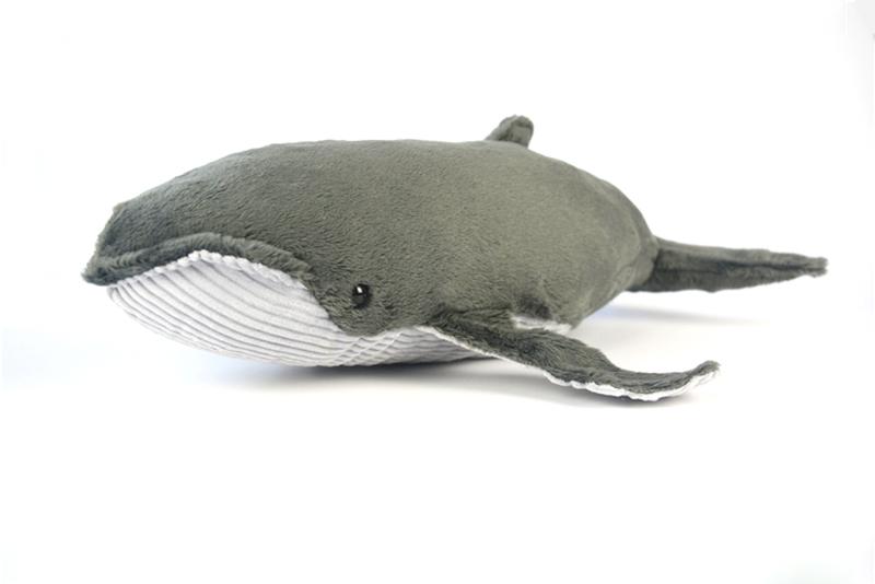 Realistica Balena Modello Animale Educazione Figura Morbida Giocattolo Per