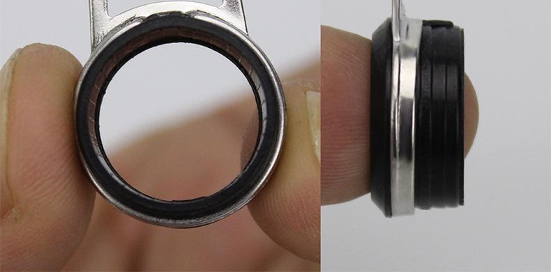 Multiple Sizes Telescopic Sea Fishing Rod Guide Rings 23456789101112mm Diameter Rock Fishing Rod Repair Guides Ring (11)