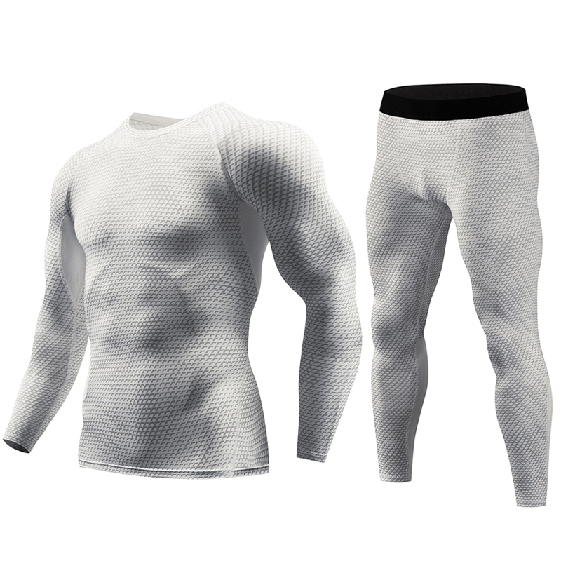 Best Selling Men's Tight-fitting Series Running T-shirt Long Wicking Breathable Tight-fitting Workout Clothes SH190717