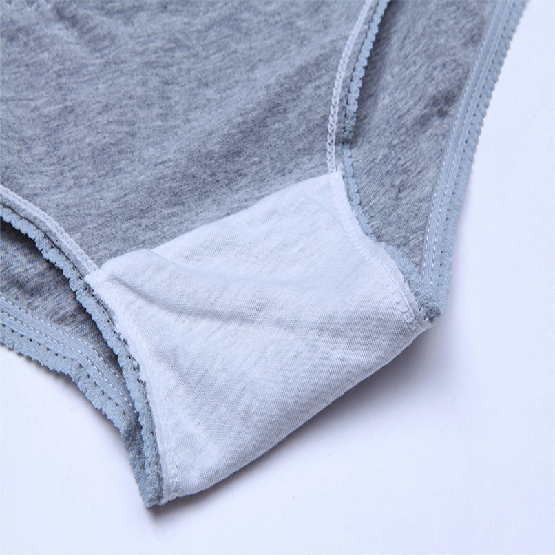 M-XXXL Pregnancy Maternity Clothes Cotton Women Pregnant Smile Printed High Waist Underwear Soft Care Underwear Clothes S14#F (4)