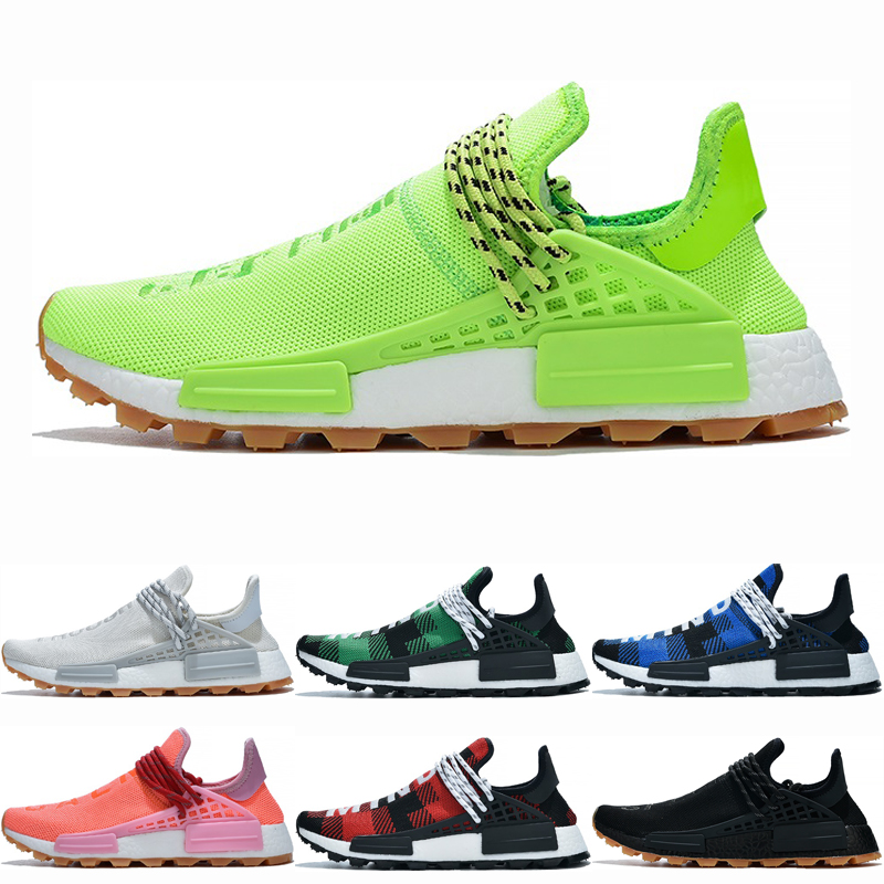 New Arrive Know Soul Human Race shoes for men women Hu trail pharrell williams men running shoes womens trainers sports shoes 36 45