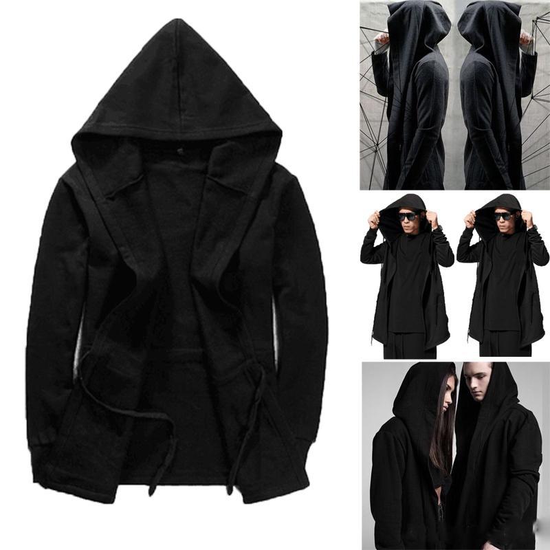 Mens Winter Warm Hoodie Owl Print Plus Velvet Thick Coat Plus Fleece Zipper Sweater Jacket Outwear Tops Blouses M-5XL