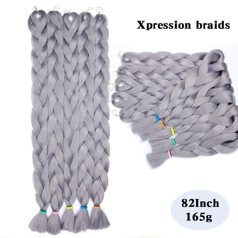 Synthetic-Kanekalon-Braiding-HairKanekalon-Jumbo-Braid-Bulk-Kanekalon-African-Braiding-Hair-style5