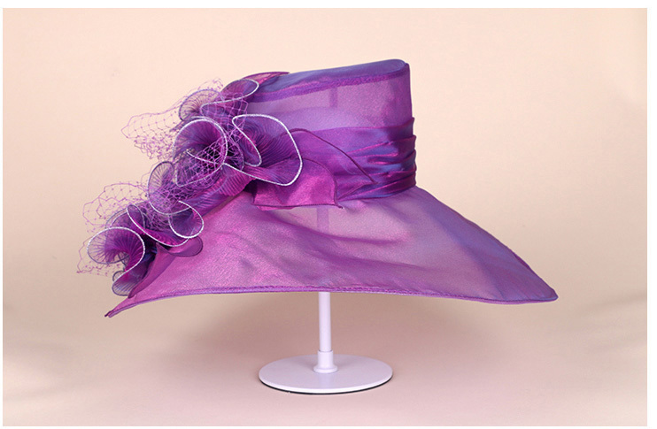 7_organza hats for women