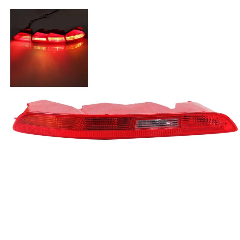 EBTOOLS 1Par de Luces Traseras de Parachoques Trasero de la Cola del Parachoques del LED de la L/ámpara Reflectora de Freno DRL para Tucson 15-18
