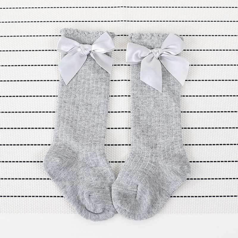 girls cute bowknot socks (14)
