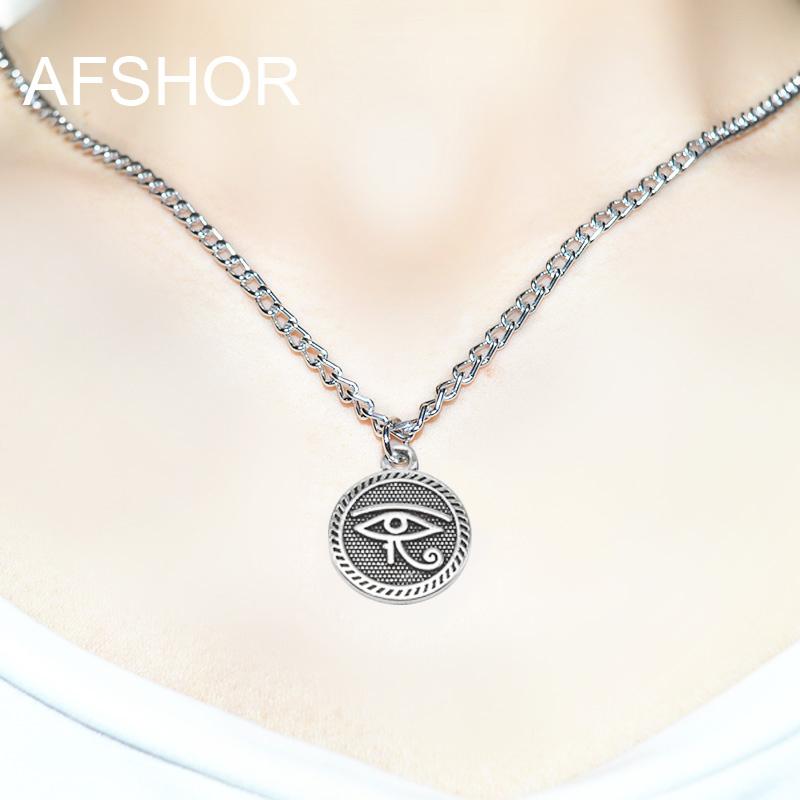 Egyptian Cat Chain Pewter Egypt Goddess Souvenir Gift Necklace Charm Pendant