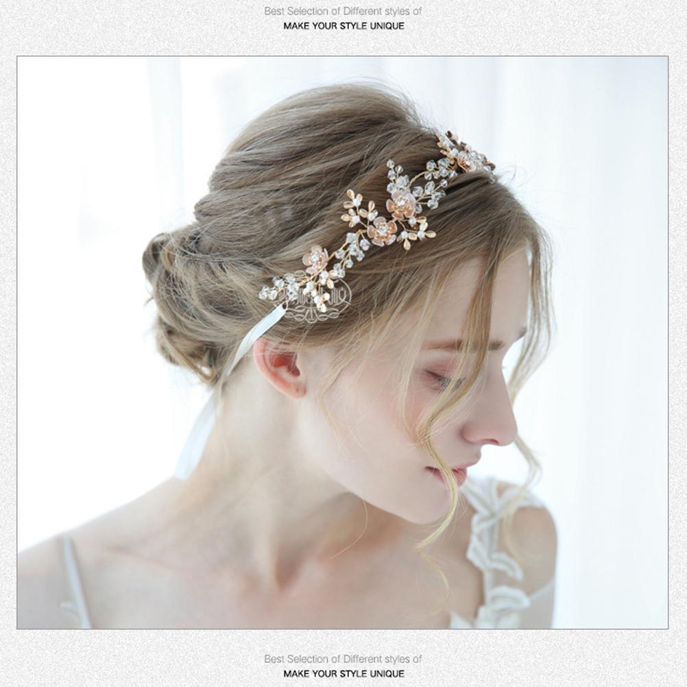 Braut Kopfbedeckungen Hochzeit Zubehör 1 Stück Braut Headwear Für Party Bankett Hochzeit