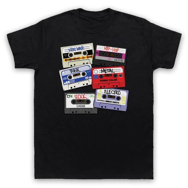 EXPLOSION AUDIO CASSETTE GIRLIE SHIRT 80s Kassette MC Music Tape Player Shirt