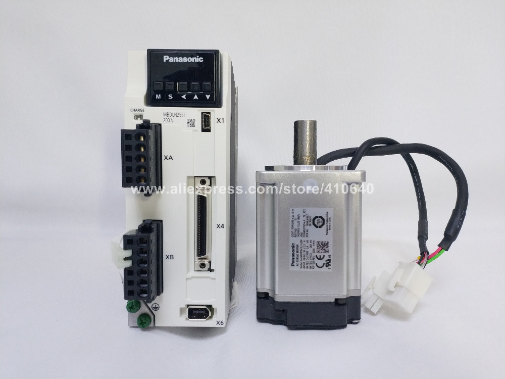 nasonic 400W Servo Motor and Drive (34)