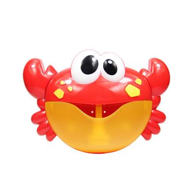 MM Big Crabe Musique Bubble Machine b/éb/é Enfants Tout-Petits Bain Bubble Maker Jouet de Bain