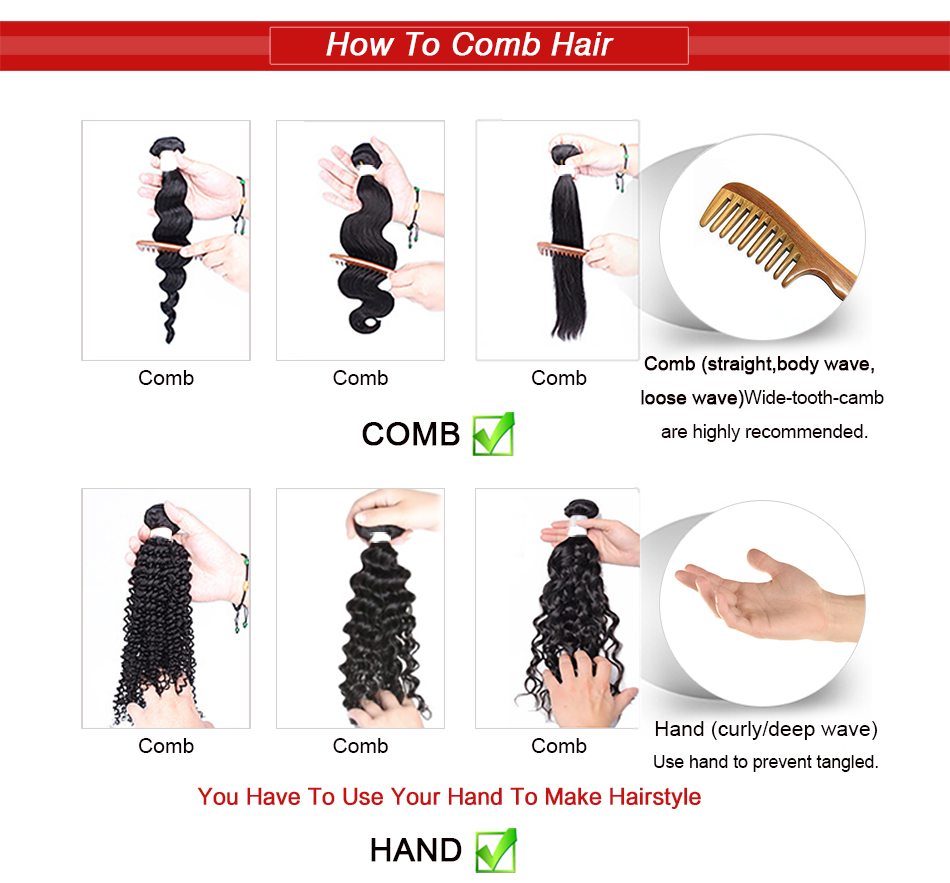 3-How To Comb Hair