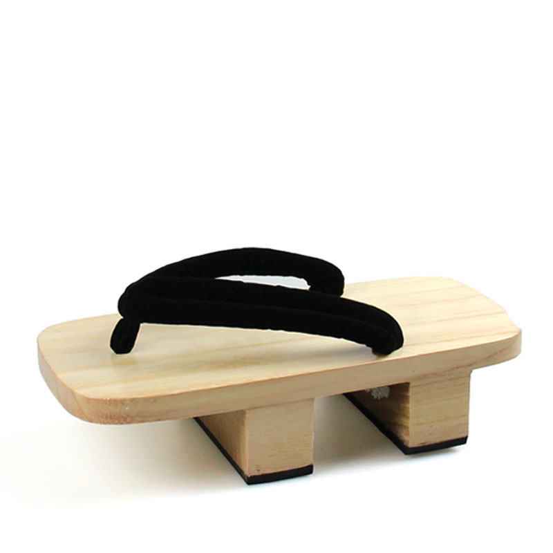 WHOHOLL Brand 2020 Summer One Piece Sanji Kimono Cosplay Costume Man Geta Slippers Japanese Wooden Flip-flops Man Sandals