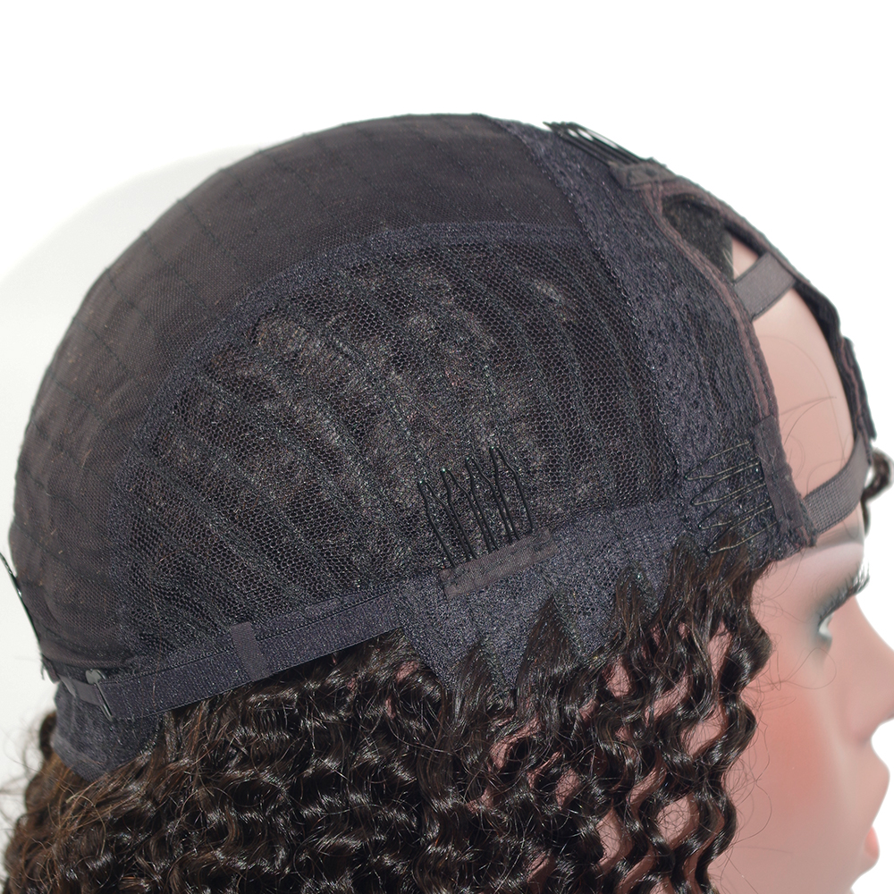 U PART HUMAN HAIR LACE WIGS
