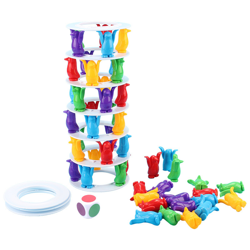 Children Toys Desktop Game Balance Toy Challenge Tower Stacked Parent-Child Interactive Board Game Intelligence Toys For Kids (6)