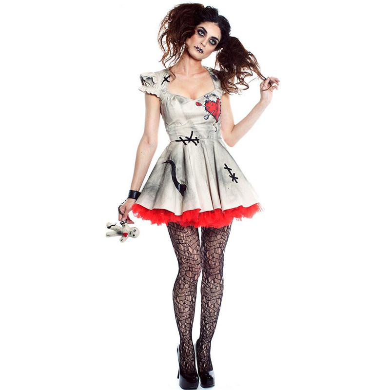 Ladies giorno dei morti Collant Halloween Costume zucchero Candy teschio