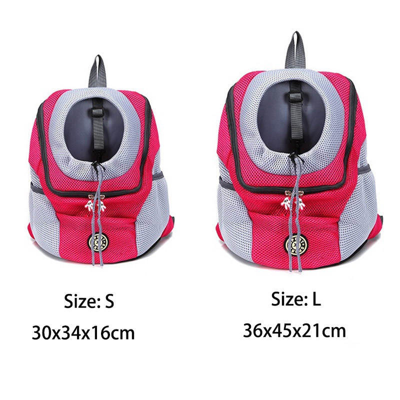 Portable Pet Dog Cat backpack Breathable Travel drawstring bag Dog Carrier Holiday home travel bags drop ship