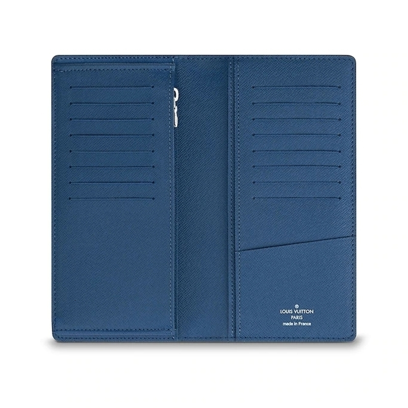 /  men's bag BRAZZA elegant soft leather hand change coin card long wallet M62973