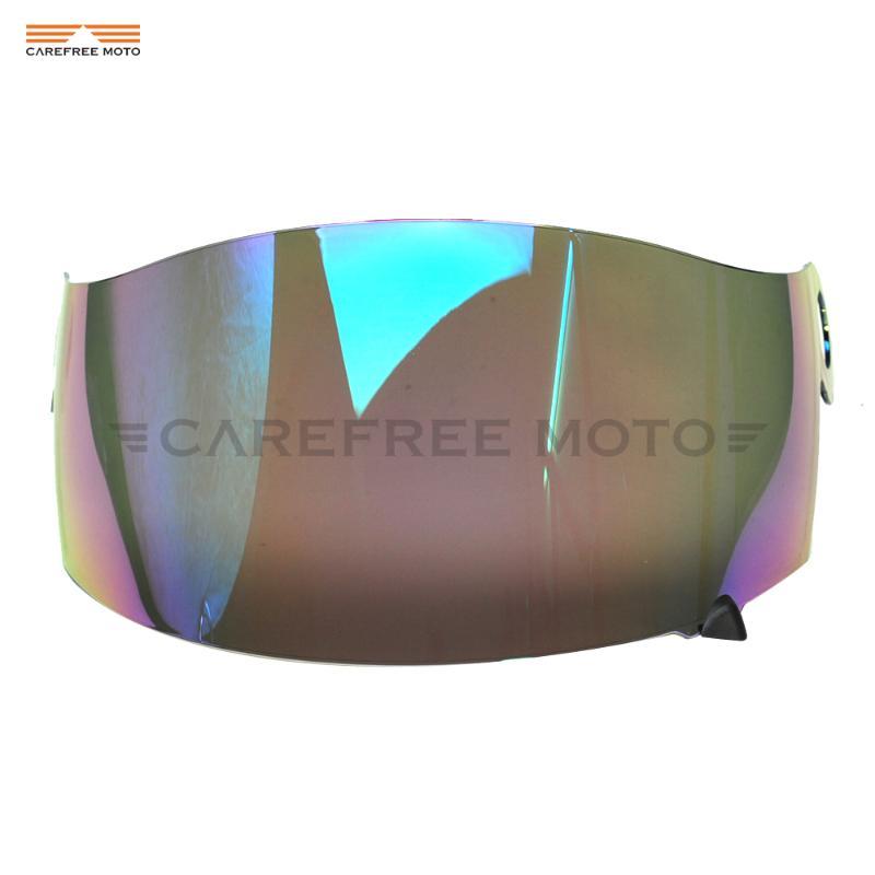 rongweiwang Motorrad-Motocross-Wind-Schild Helm Full Face Visier Antifog-Motorradhelm Anti-UV-Anti-Beschlag-Visier f/ür 316 902 AGV K5 K3SV Farbe Random