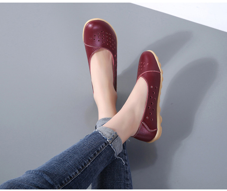 AH 5929-1-2019 Summer Woman Flats Cut-Outs Women Loafers-14