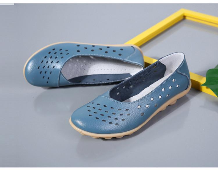AH 5929-1-2019 Summer Woman Flats Cut-Outs Women Loafers-25