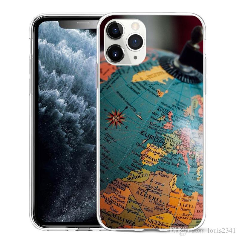 coque iphone 12 old map