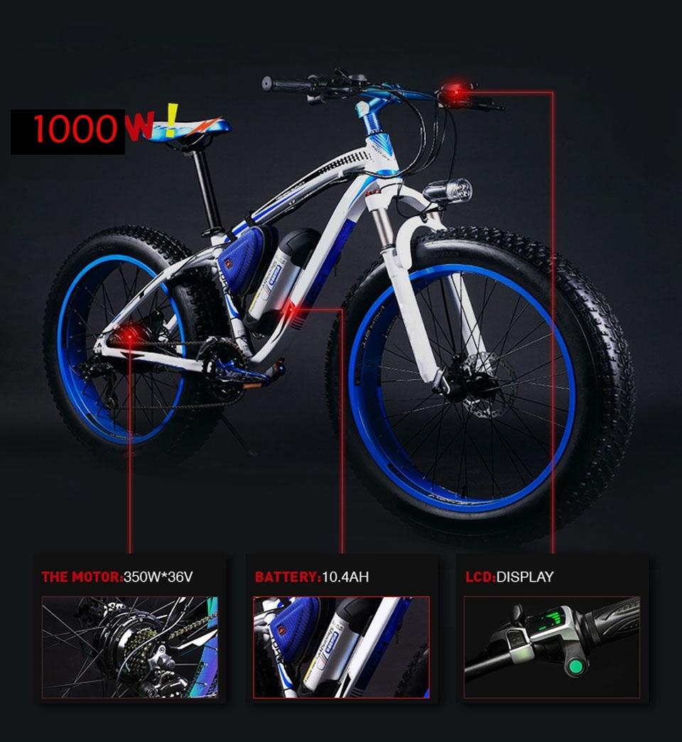 36v 10.4ah electric bike__