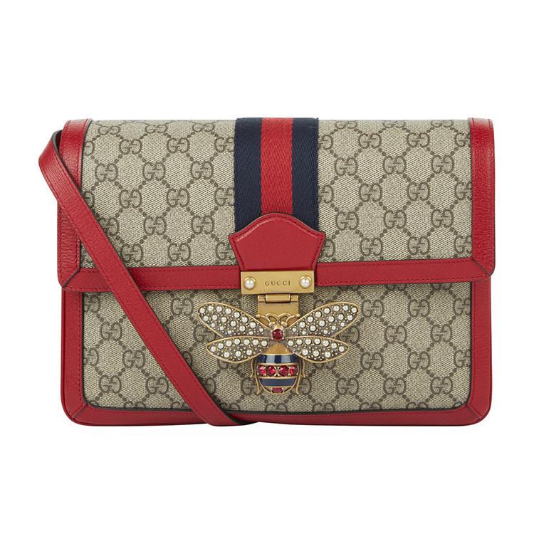 / Queen Margaret Series Pearl Crystal Bee Men's and Women's Universal Shoulder Bag 5243569I6BT8540