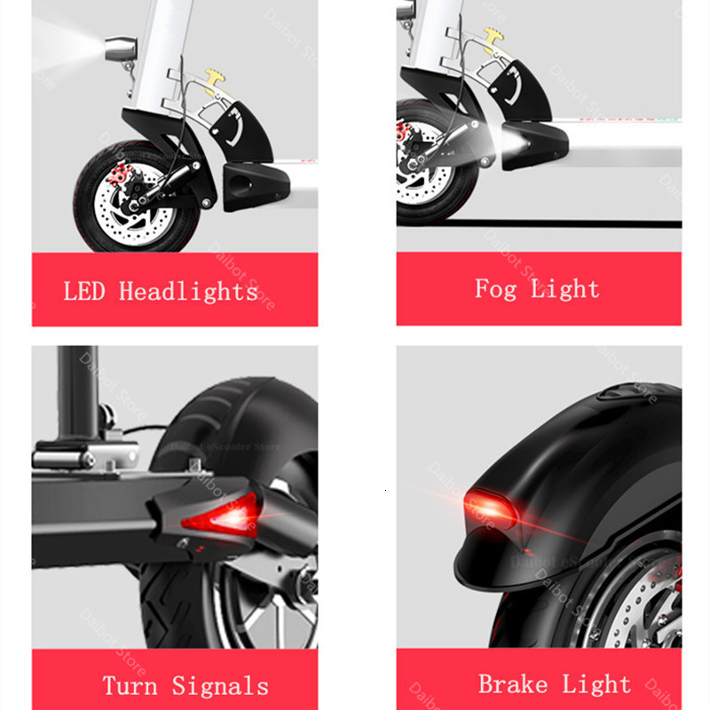 Powerful Electric Scooter 2400W 60V Two Wheel Electric Scooters Dual Drive High Speed 70KMH Foldable Kick Scooter Adult (41)