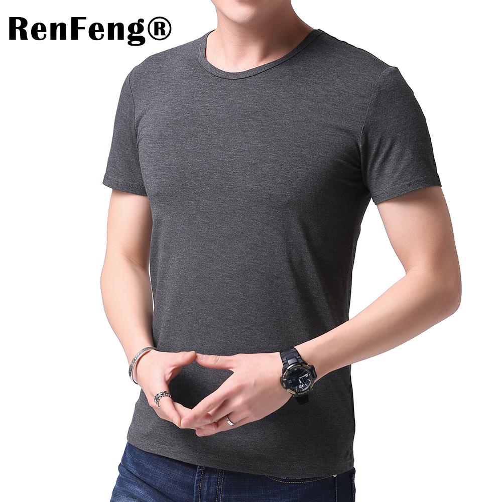 Fashion 2018 New Cool T-shirt Men Blank Tshirt Under shirt Tee Shirt Homme Short Sleeve Summer Tops Tees T shirt Male M-3XL (1)