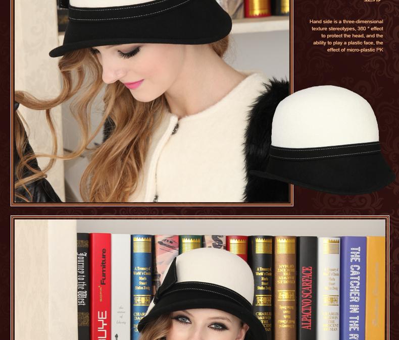 woman hat elegante