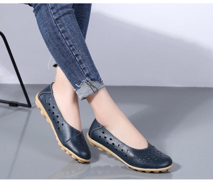 AH 5929-1-2019 Summer Woman Flats Cut-Outs Women Loafers-12