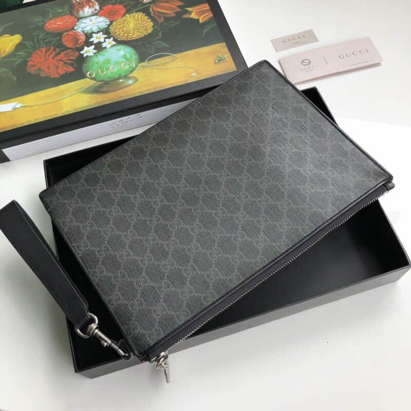 Night Courrier Premium Faux Canvas Clutch 496346
