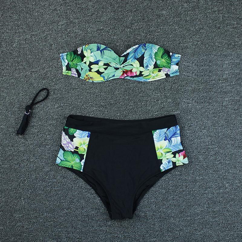 print push up bikini