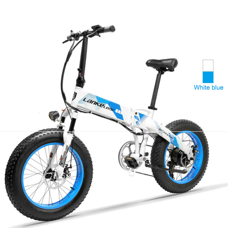 Daibot Electric Scooter Adults Two Wheels Electric Bicycle 20 Inch Big Tire 500W Electric E Bike Scooter With Double Brake