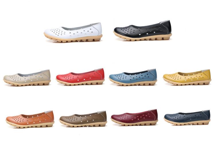 AH 5929-1-2019 Summer Woman Flats Cut-Outs Women Loafers-2