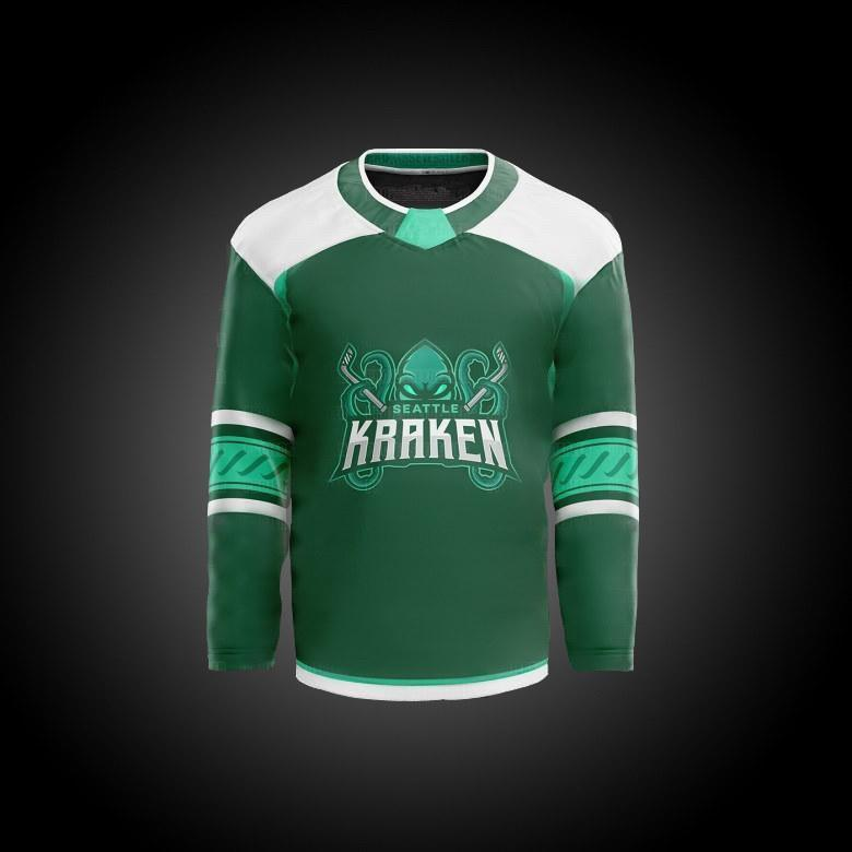 2021 Seattle Kraken Ice Hockey Jersey 32th New Team Custom Mens Womens Youth Home Road Any Nunber Any Name All Stitched Hockey Jerseys