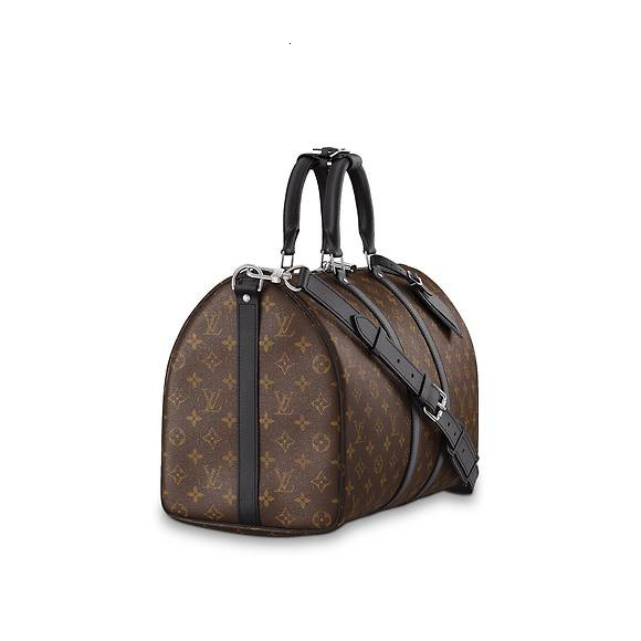 /  KEEPALL45 classic old color travel bag with shoulder strap M56711