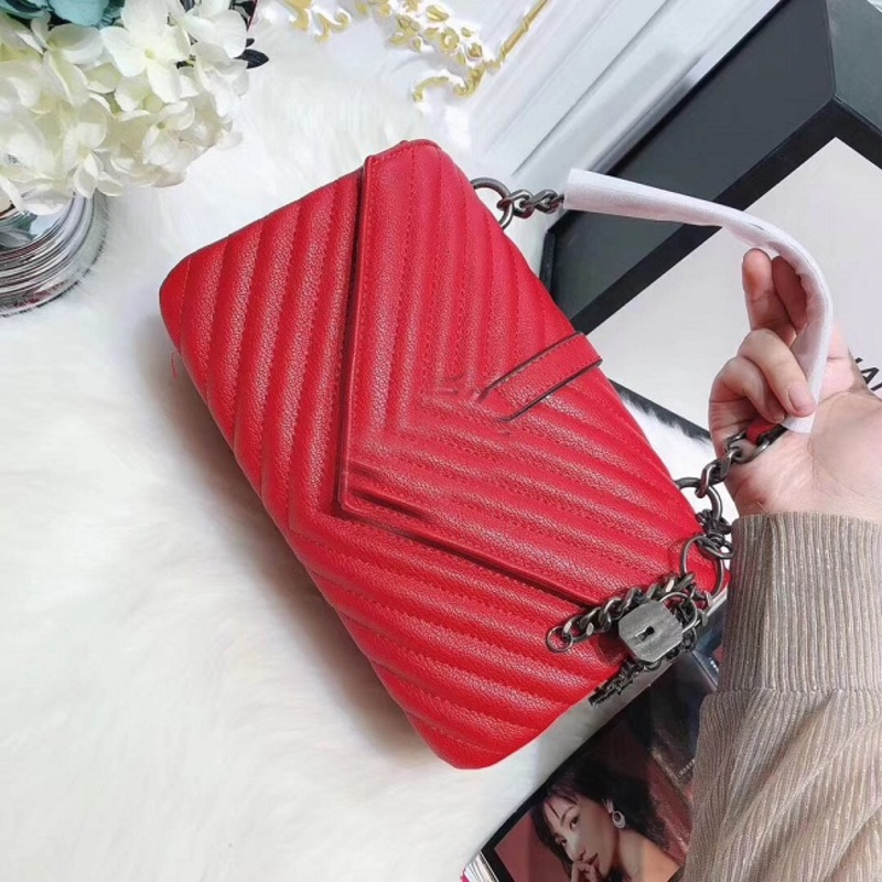 Classical New arrival new style shoulder bags handbags crossbody bag pruse for women hot sale all-match for women 24cm two colorsnew arrival