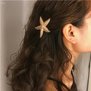 AOMU-Punk-Alloy-Starfish-Star-Barrettes-Hairpin-Geometric-Irregular-Moon-Metal-Gold-Color-Hair-Clip-for (1)