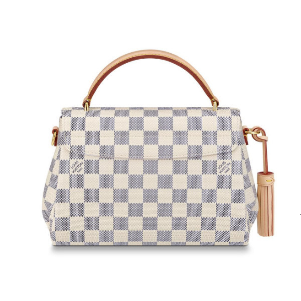 /  CroisetteDamierEbene brown checkerboard dual-use canvas / with leather N53000 (scheduled goods 2-3 weeks after delivery)