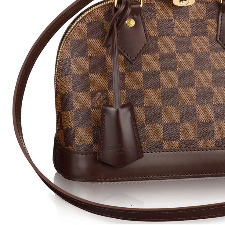 /  Alma BB brown chess canvas / with leather ladies shoulder bag N41221 brown (scheduled goods 2-3 weeks after delivery)