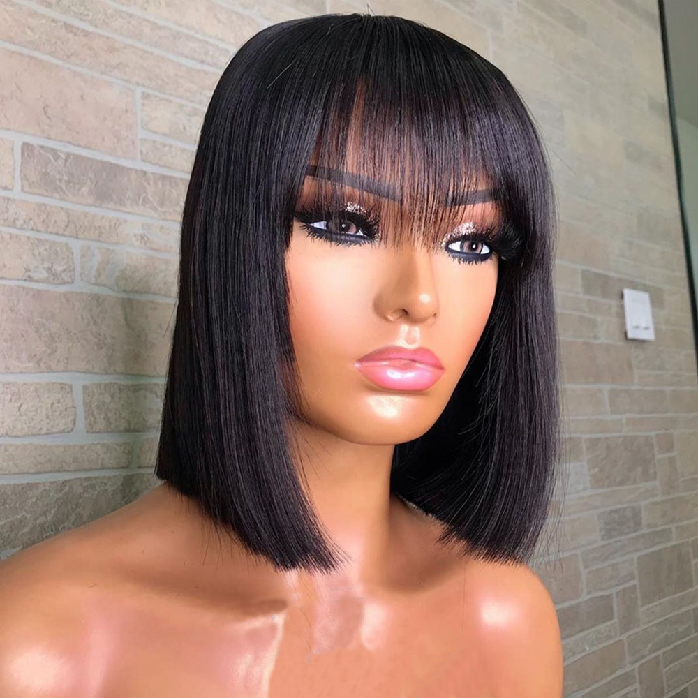 Short-Bob-Wigs-With-Bangs-13x6-Glueless-Lace-Front-Human-Hair-Wigs-Pre-Plucked-Natural-Hairline (3)