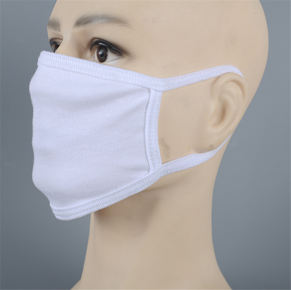 Black Cotton Unisex designer Face Mask Reusable Comfortable for Riding Cycling Camping Travel for Kids Teens Men Women