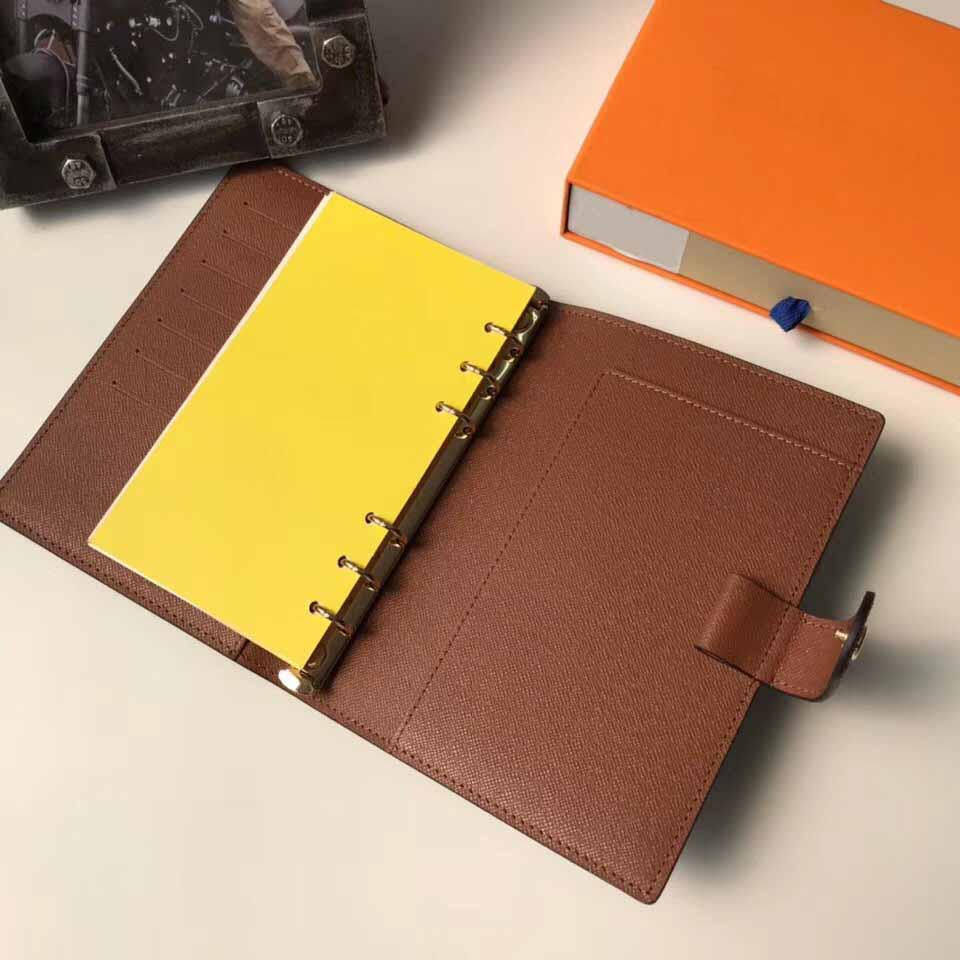 top mens fashion classic notepad leisure credit card id card holder high quality notebook business record book for men and women pocketbook