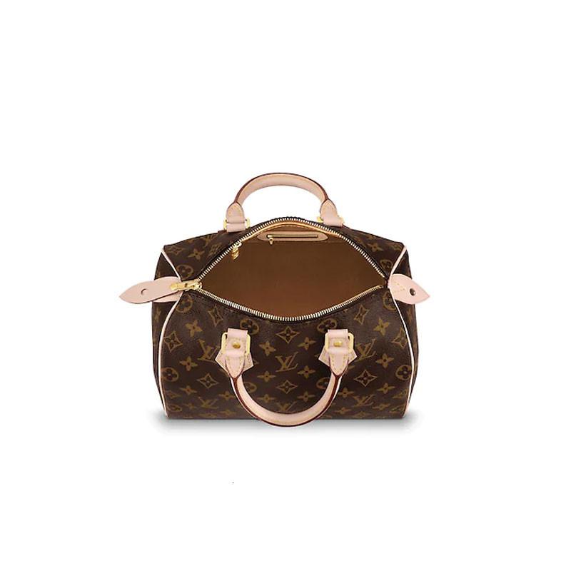 /  19 new SPEEDY 25 handbags old flower handbag Boston handbag M41109