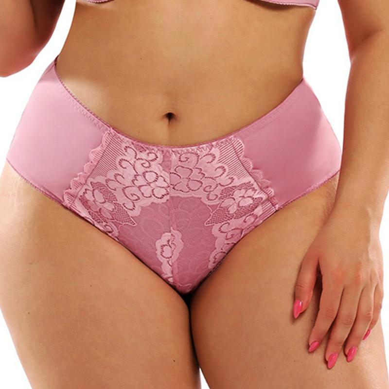 Cute Silk//Lace Mesh Foral Girls Bikini Briefs Panties Underwear for Women M L XL