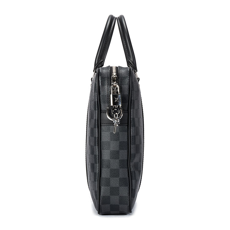 /  gray chess portable dual-use bag N41478 gray