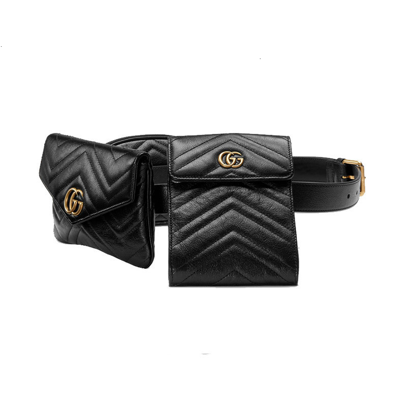 /  GG Marmont quilted ladies leather pockets